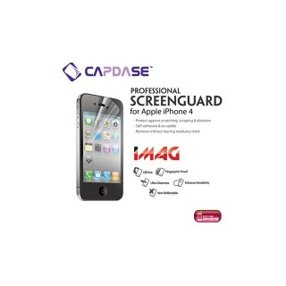 CAPDASE iPhone 4S/4 ScreenGuard iMAG for iPhone 4S / 4 「エクセレント・ツヤ消し」 液晶保護フィルム