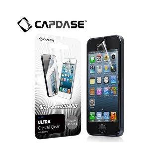 【人気の液晶保護フィルム】 CAPDASE ScreenGuard Klia iPhone SE/5s/5 「ハイパー・クリアー 光沢」