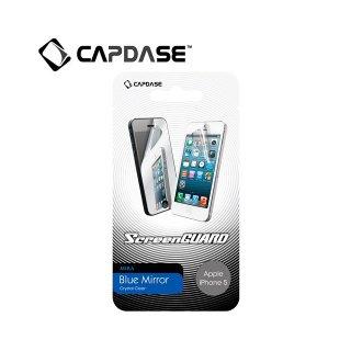 【ミラーになる液晶保護フィルム】 CAPDASE ScreenGuard Blue Mira iPhone SE/5s/5  「ブルー・ミラー」