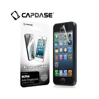 【抗菌液晶保護フィルム】 CAPDASE ScreenGuard UT iMAG iPhone SE/5s/5 「ツヤ消し・抗菌タイプ」