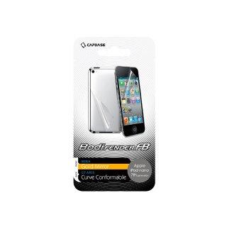 CAPDASE iPod nano 7 BodiFender FB 液晶保護フィルム「Gold Mira」・ 本体保護フィルム「CF ARIS」セット