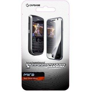 【ミラーになる液晶保護フィルム】 CAPDASE Motorola RAZR au IS12M ScreenGuard Red Mirror 「レッドミラー」