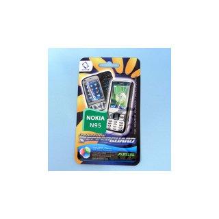 CAPDASE Nokia N95/Softbank X02NK ScreenGuard ARiS 「光沢タイプ」 液晶保護フィルム