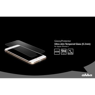 【iPhone6s Plus/6 Plus 極薄(0.2mm)の硬度9Hの強化ガラス】 ahha Ultra-slim Glass(0.2mm)