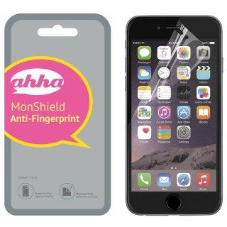【指紋や脂が付きにくい】 ahha iPhone 8 Plus/7 Plus/6S Plus/6 Plus 用液晶保護フィルム モンシールド アンチフィンガープリント