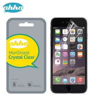 【透明度の高い】 ahha iPhone 8 Plus/7 Plus/6S Plus/6 Plus 用液晶保護フィルム モンシールド クリスタル・クリアー