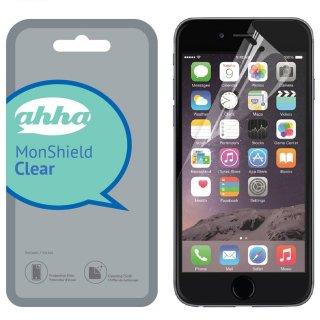 【ノーマルタイプの液晶保護フィルム】 ahha iiPhone 8 Plus/7 Plus/6S Plus/6 Plus 用液晶保護フィルム モンシールド クリアー