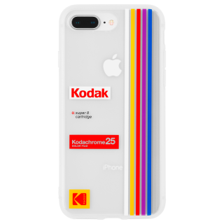 【Case-Mate×Kodak コラボレーション】  iPhone 8Plus / 7Plus / 6sPlus / 6Plus Kodak Striped Kodachrome Super 8