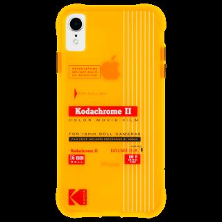 【Case-Mate×Kodak コラボレーション】  iPhone XR Case Kodak Vintage Kodachrome II Print