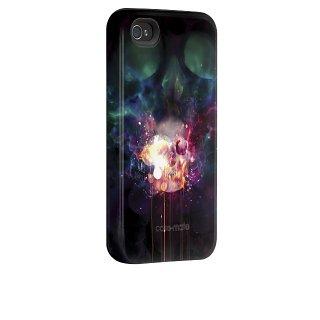 【衝撃に強いデザインケース】 iPhone 4S/4 Hybrid Tough Case, Dark Lights I