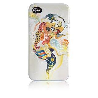 【衝撃に強いデザインケース】 iPhone 4S/4 Hybrid Tough Case, Goldenfish