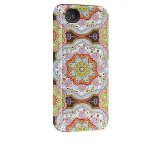 【衝撃に強いデザインケース】 iPhone 4S/4 Hybrid Tough Case, Cinda B - Casablanca Purple