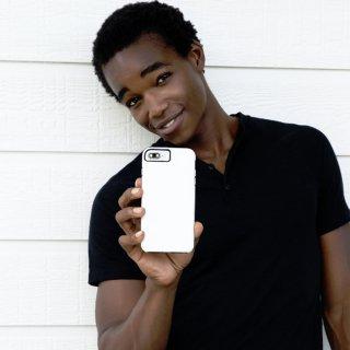 【シンプルな二重構造ケース】iPhone XS Max  Tough Grip - White/Black