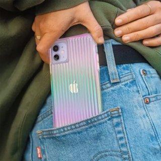【キラキラと光るイリデセントカラー・握り心地◎】 iPhone 11 / 11 Pro / 11 Pro Max Case Tough Groove - Iridescent