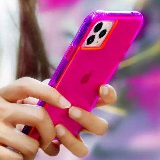 【ワールドワイドで大人気のネオンカラー】 iPhone 11 / 11 Pro / 11 Pro Max Case Tough NEON - Pink/Purple