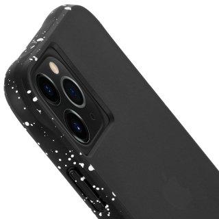 【滑落防止にも活躍する側面の斑点模様】 iPhone 11 / 11 Pro / 11 Pro Max Case Tough Speckled Black