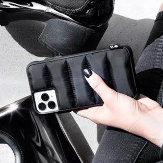 【ストリートファッションのiPhoneケース】 iPhone 11 / 11 Pro / 11 Pro Max Case Puffer - Black