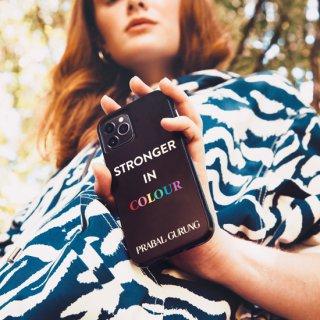 【世界のセレブが認めるデザイナー作品】PRABAL GURUNG iPhone 11 / 11 Pro / 11 Pro Max Case Tough Stronger in Colour Smoke