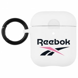 【Reebokコラボ!2020年の最新ロゴがAirPodsケースに!】 White Vector 2020 for AirPods