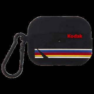 【コラボ・AirPods Pro ケース・ワイヤレス充電OK】 AirPods Pro Kodak Black with Kodak Stripes w/Black Carabiner Clip