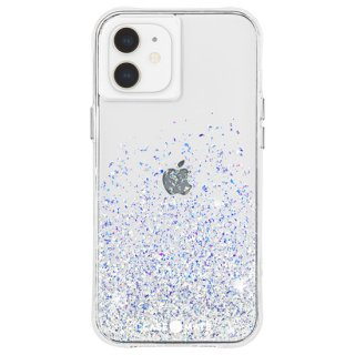 【キラキラと輝く美しい抗菌ケース】iPhone 12 mini Twinkle Ombré - Stardust w/ Micropel