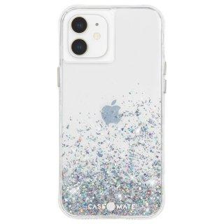【美しく輝く抗菌ケース】iPhone 12 mini Twinkle Ombré - Black w/ Micropel