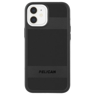 【Pelican × Case-Mate】抗菌ケース iPhone 12 mini Pelican Protector - Black w/ Micropel