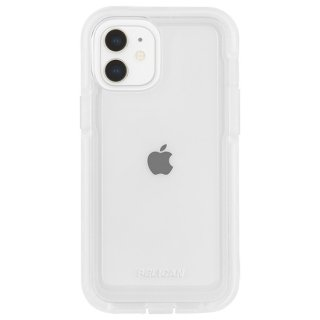 【Pelican × Case-Mate】抗菌ケース iPhone 12 mini Pelican Voyager - Clear w/ Micropel ホルスターセット