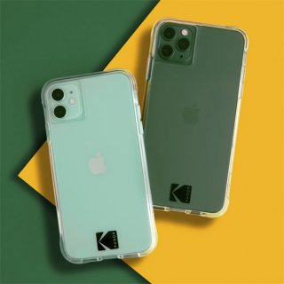 【Kodak × Case-Mate】iPhone 12 / iPhone 12 Pro Clear Case with Logo