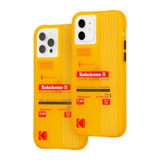 【Kodak × Case-Mate】iPhone 12 / iPhone 12 Pro Vintage Yellow