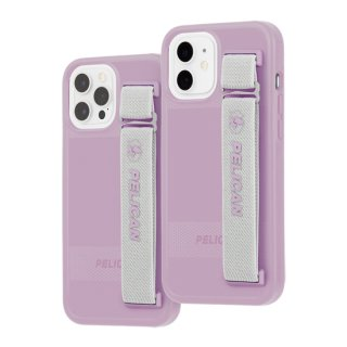 【Pelican × Case-Mate】抗菌ケース iPhone 12/12 Pro Pelican Protector Sling - Mauve Purple w/ Micropel
