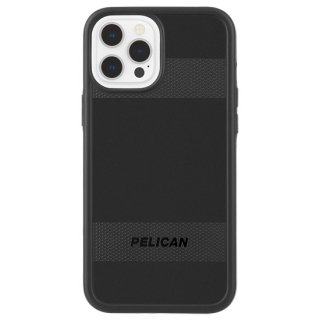 【Pelican × Case-Mate 】抗菌ケース iPhone 12 Pro Max Pelican Protector - Black w/ Micropel