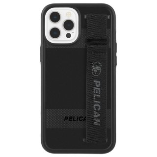 【Pelican × Case-Mate】抗菌ケース iPhone 12 Pro Max Pelican Protector Sling - Black w/ Micropel