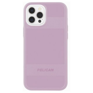 【Pelican × Case-Mate】抗菌ケース iPhone 12 Pro Max Pelican Protector - Mauve Purple w/ Micropel