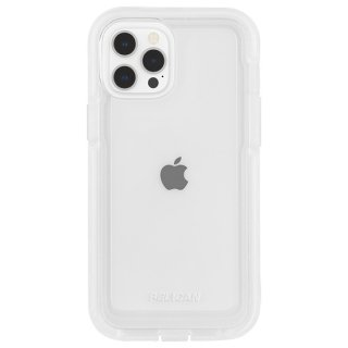 【Pelican × Case-Mate】抗菌ケース iPhone 12 Pro Max Pelican Voyager - Clear w/ Micropel ホルスターセット