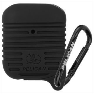 【Pelican × Case-Mate】AirPods 抗菌・防塵・防水・耐衝撃ケース AirPods Protector - Black
