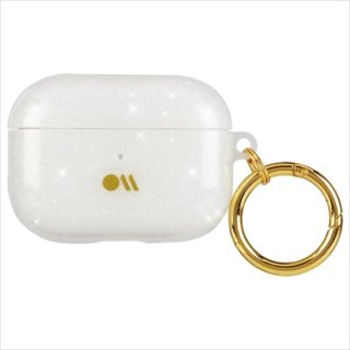 【キラキラと輝く・AirPods Pro・ワイヤレス充電もOK+抗菌仕様】 AirPods Pro Case Shimmer - Crystal