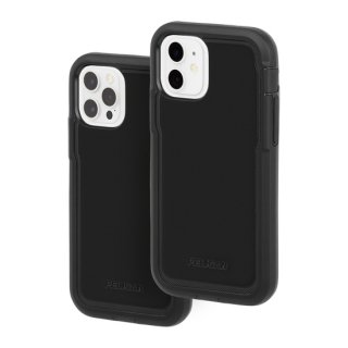 【Pelican × Case-Mate】抗菌ケース iPhone 12 / iPhone 12 Pro Pelican Voyager - Black w/ Micropel ホルスターセット