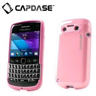 【2層構造のハードケース】 CAPDASE BlackBerry Bold 9790 Polimor Protective Case  Candy Pink