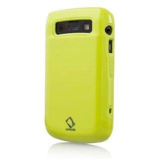 【ハードとソフトの2種の素材を使ったケース】 CAPDASE BlackBerry Bold 9780/9700 Polimor Case  Green
