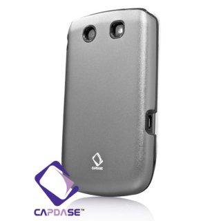 【アルミ合金とシリコンの2層構造ケース】 CAPDASE BlackBerry Torch 9800/9810 Alumor Metal Case  Grey