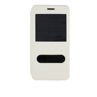 【Huawei Y6 手帳型ケース】 GauGau Huawei Y6 Smart Case  White/White (スタンド機能つき)