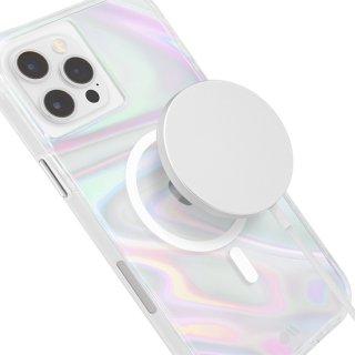 【シャボン玉をイメージした鮮やかなMagSafe®完全対応ケース】iPhone 12 Pro Max Soap Bubble 抗菌仕様