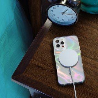 【シャボン玉をイメージした鮮やかなMagSafe®完全対応ケース】iPhone 12 / iPhone 12 Pro Soap Bubble 抗菌仕様