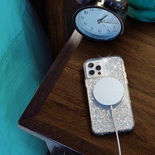 【夜空にきらめく星のような美しいMagSafe®完全対応ケース】iPhone 12 Pro Max Twinkle - Stardust 抗菌仕様