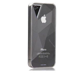 【立体ハードケース】 iPhone 4S/4 Facets Case Clear