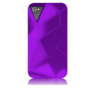 【立体ハードケース】 iPhone 4S/4 Facets Case Purple