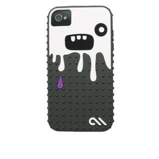 【キモかわいいモンスターのケース】 iPhone 4S/4 Creatures: Monsta Case Gray/White