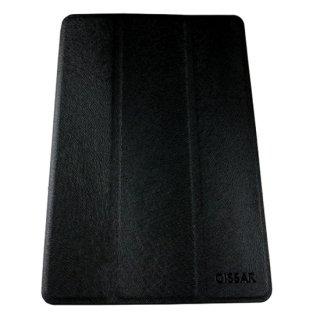 【スタンド機能付き】 GISSAR iPad mini 3/2/1 ホルダータイプ レザー調ケース  Black