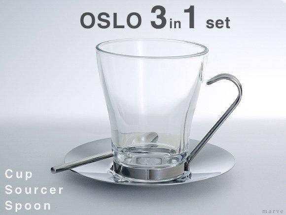 OSLO CAPPUCCINOカップセット 3 in 1